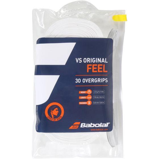 SURGRIP BABOLAT VS ORIGINAL x30 657003 101 BLANC
