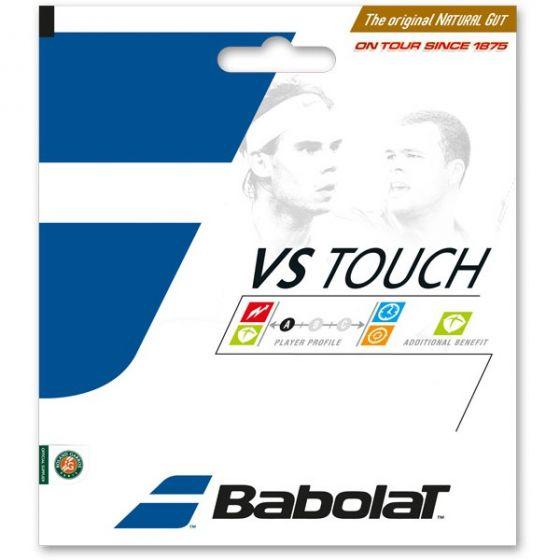 BABOLAT VS TOUCH NATURAL CORDAGE TENNIS GARNITURE 12M