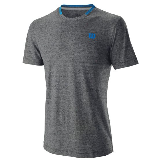 TEE-SHIRT HOMME WILSON COMPETITION FLECKED CREW WRA773404 GRIS
