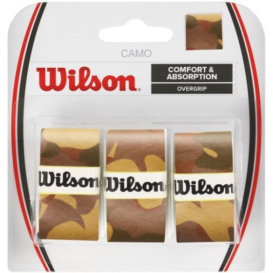 SURGRIP WILSON CAMO PRO OVERGRIP x3 WRZ470860 MARRON