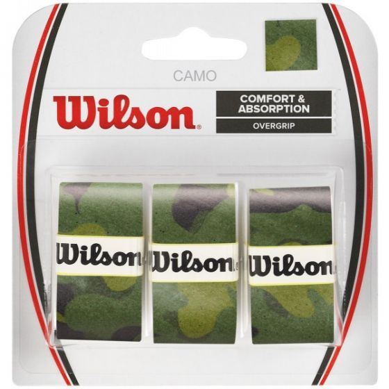 SURGRIP WILSON CAMO PRO OVERGRIP x3 WRZ470850 VERT