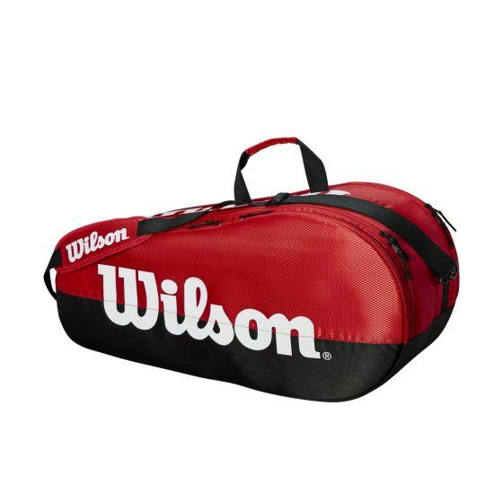 SAC DE TENNIS WILSON TEAM 2 COMP WRZ857909 ROUGE/NOIR