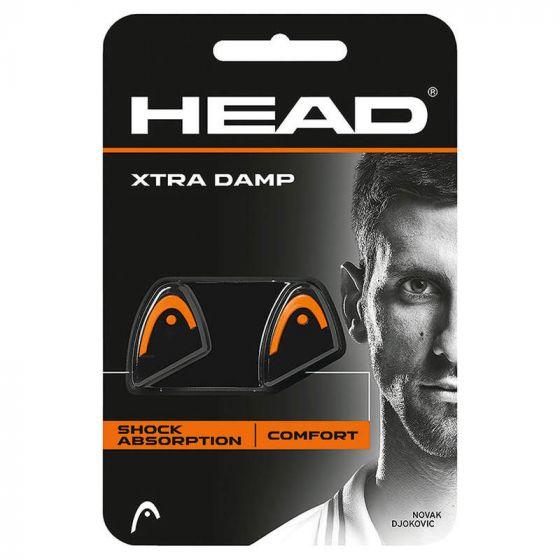 ANTIVIBRATEUR HEAD XTRA DAMP x2 285511 NOIR ORANGE