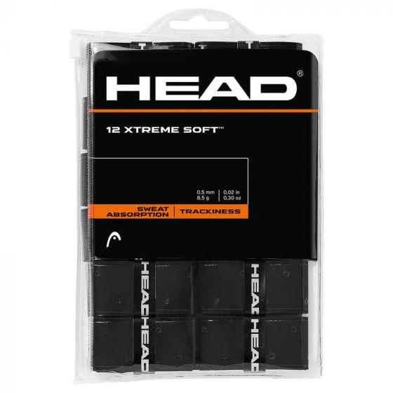 SURGRIP HEAD XTREME SOFT x12 285405 NOIR