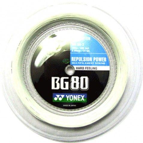 BOBINE DE CORDAGE BADMINTON YONEX BG 80 200m