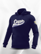 SWEAT CAPUCHE COTON SANS ZIP HOMME/JUNIOR CAPO LIMOGES BLEU